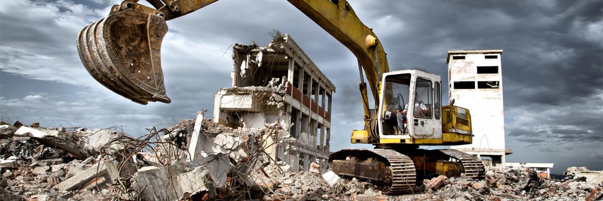снос и демонтаж зданий и строений